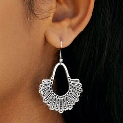 RBG Dissent Collar Chandelier Earrings ( Silver or Gold)