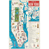 New York Map Vintage 500  piece Puzzle