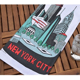 New York City Collage Dish Towel