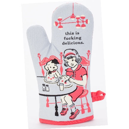 This Is F-ing Delicious Oven Mitt