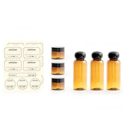 Overnight Apothecary Travel Set