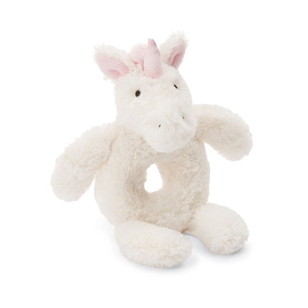 Bashful Unicorn Rattle
