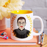 Ruth Bader Ginsburg Mug by the Found