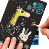 Mini Scratch Art Kit: Playful Pups
