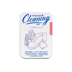 Travel size Sneaker cleaning kit in gift tin