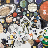 Ben Giles Zero Gravity Puzzle with Shaped Pieces