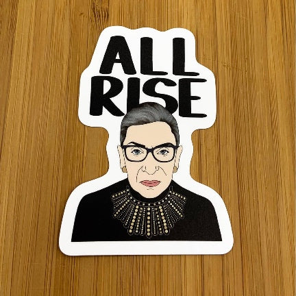 RBG All Rise Vinyl Sticker