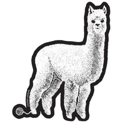 Alpaca Viynl Sticker