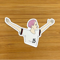 Megan Rapinoe Vinyl Sticker