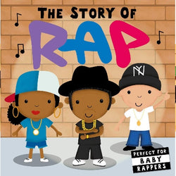 The story of RAP boeard book. 3 rappers on cover