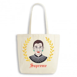 RBG supreme tote bag by The found