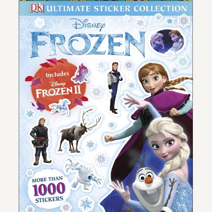Disney Frozen Ultimate Sticker Collection-includes Frozen II