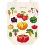 Cavallini Vegetable Garden Tote Bag