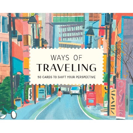 Ways of traveling , 50 boxed cards to shift  perspective