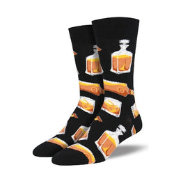 Mens rocks or neat socks black