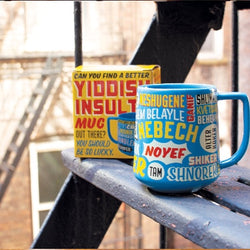 yiddish insult mug with box