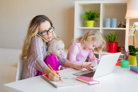 Get More Done Even When Your Kids Are Virtual Learning