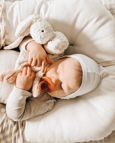 Are you struggling to introduce a pacifier to your baby? We've rounded up a few tips to hopefully make the transition a little easier!