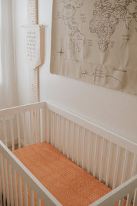 Tuscany Muslin Crib Sheet