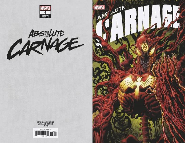 Absolute Carnage #4 Connecting Variant
