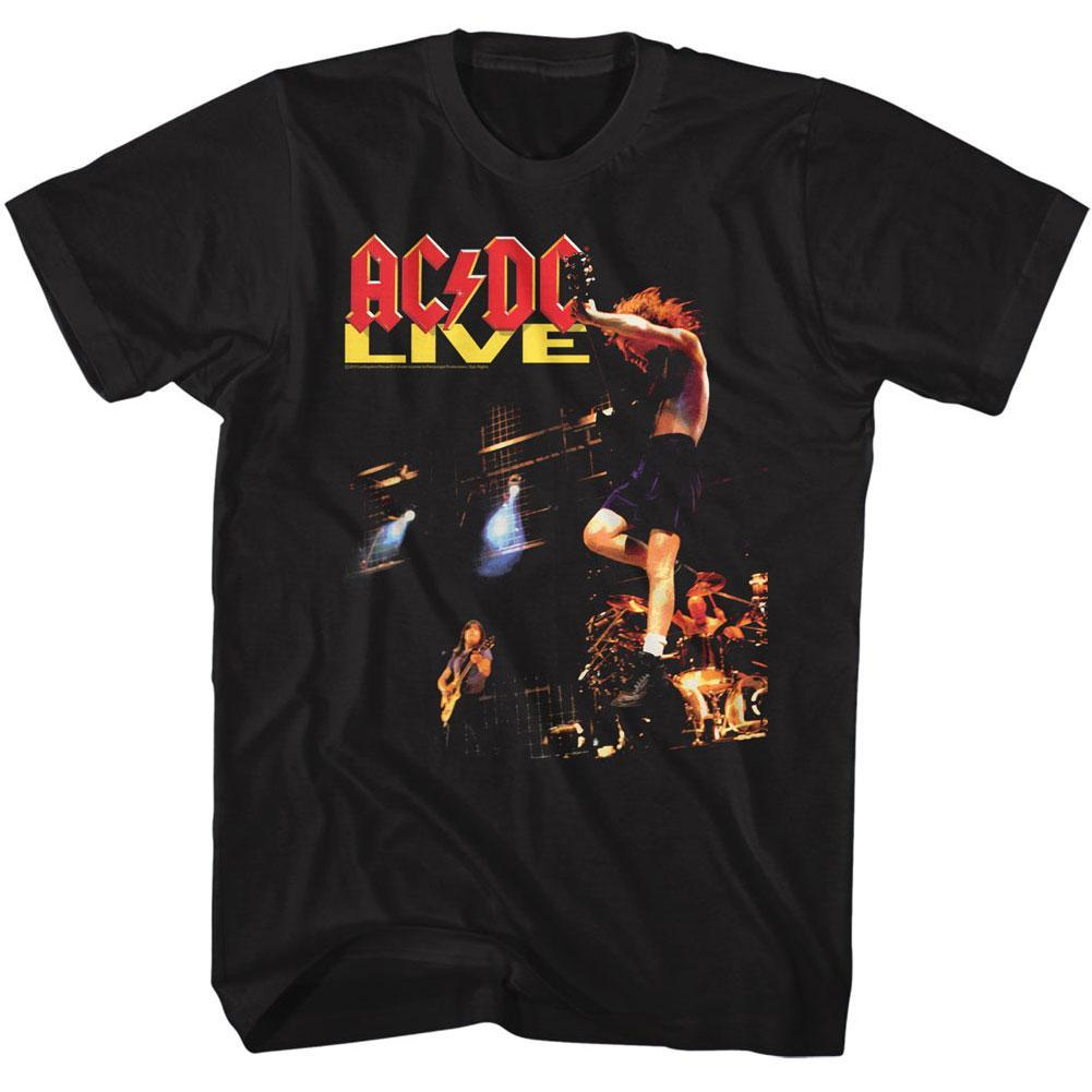 Shirt AC/DC  Live Black T-Shirt