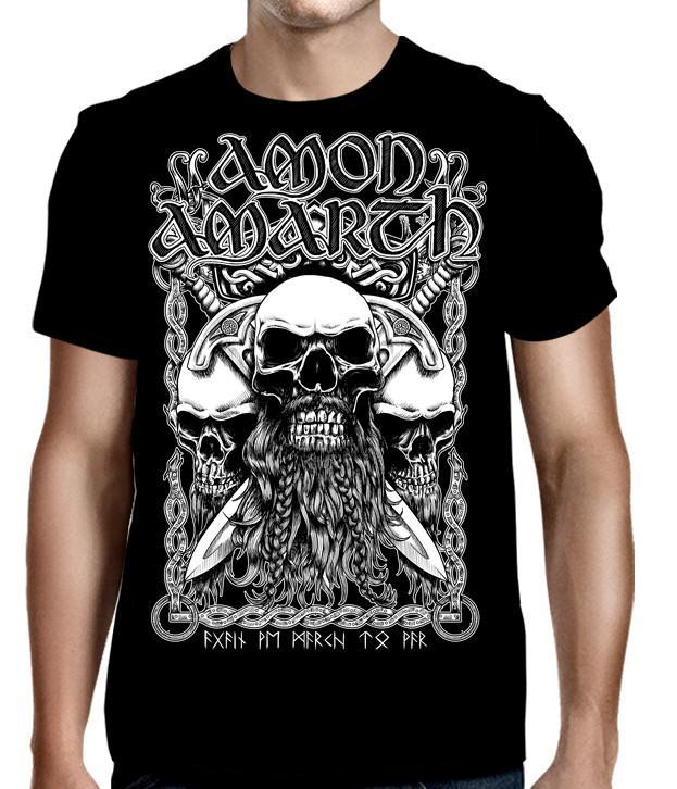 Shirt Amon Amarth Bearded Skull T-Shirt