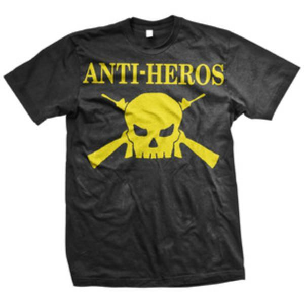 Anti Heros Logo Black T-Shirt