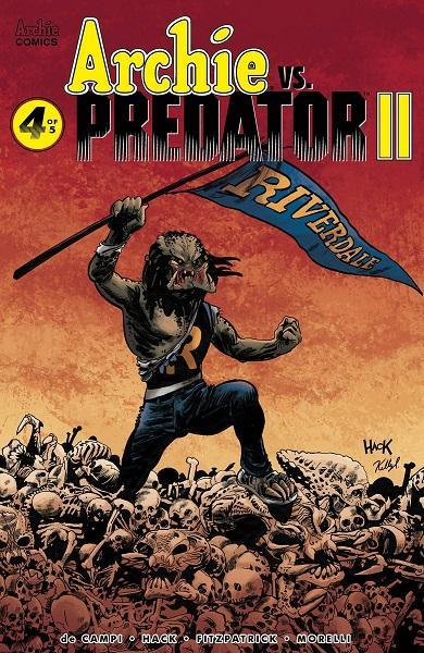 Comic Book Archie Vs Predator II #4