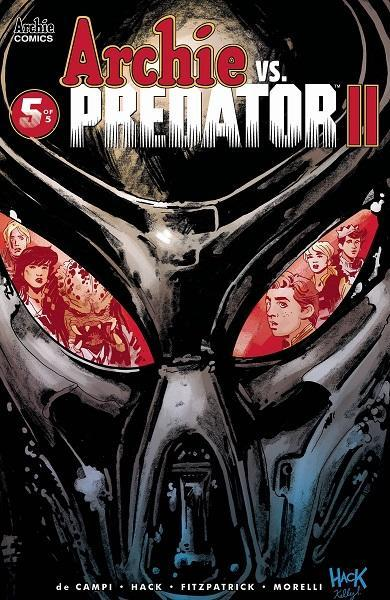 Comic Book Archie Vs Predator II #5
