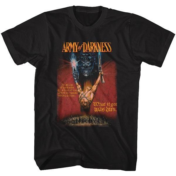 Shirt Army of Darkness Movie Poster T-Shirt