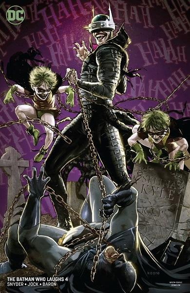Batman Who Laughs #4 Variant Cover