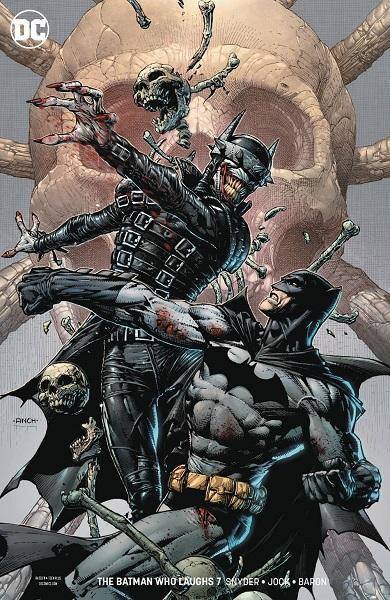 Comic Book Batman Who Laughs #7 David Finch Variant