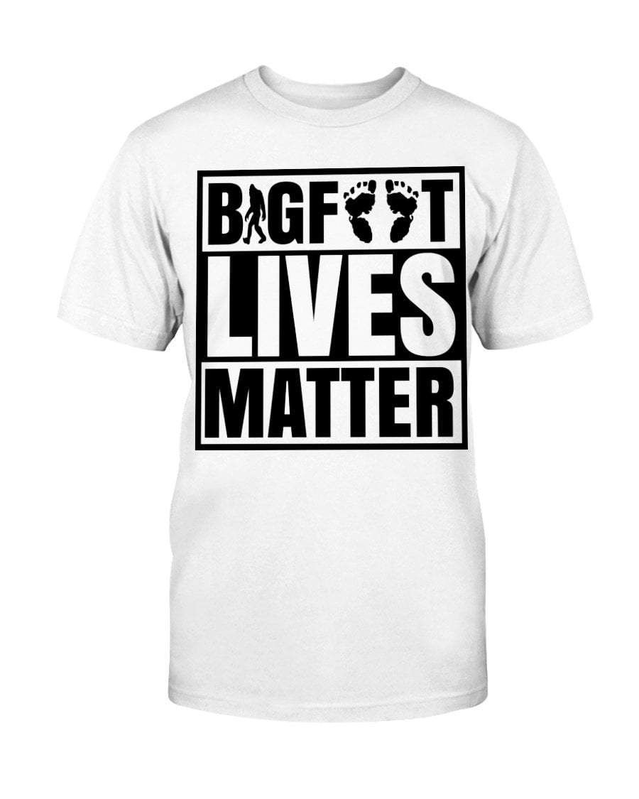 Shirts White / S Bigfoot Lives Matter T-Shirt
