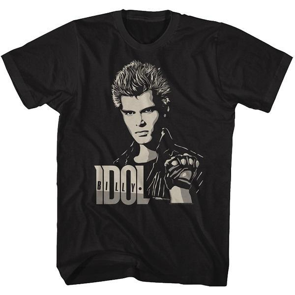 Shirt Billy Idol 2 Tone Billy T-Shirt