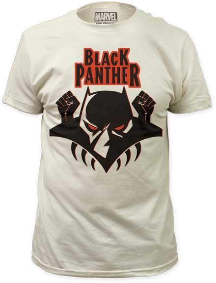 BLACK PANTHER - Logo Slim Fit T-Shirt