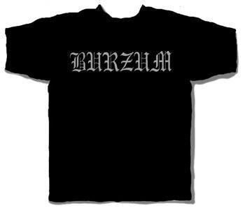 Burzum Logo Black T-Shirt