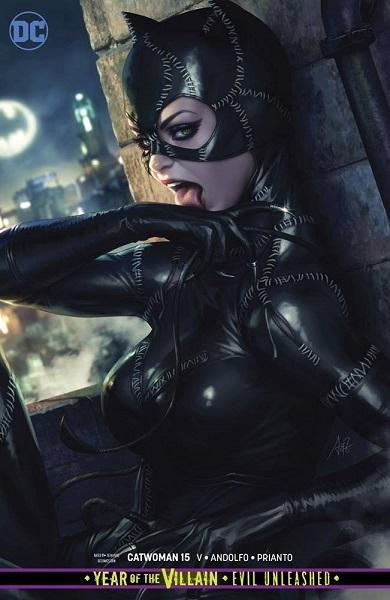 Catwoman #15 Artgerm Card Stock Variant