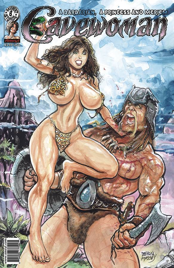 Cavewoman Barbarian Princess and Meriem #1