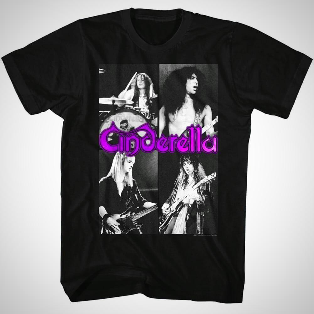 Shirt Cinderella Quarters Slim Fit T-Shirt