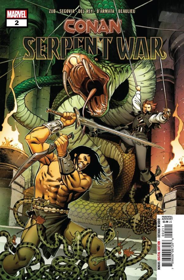 Conan Serpent War #2