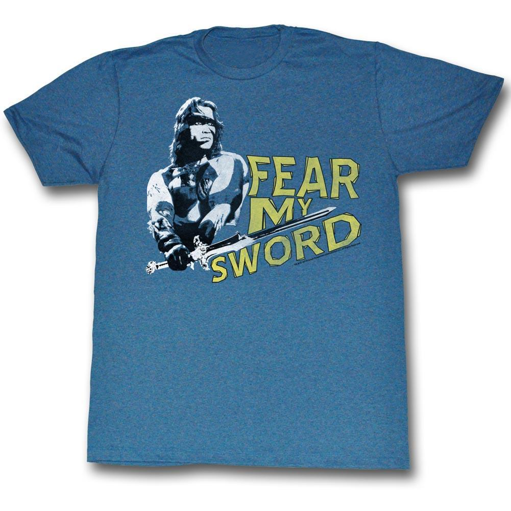Shirt Conan The Barbarian Fear My Sword Slim Fit T-Shirt