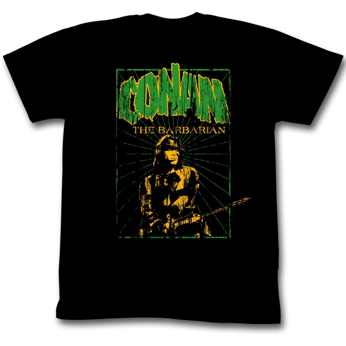 Shirt Conan The Barbarian In The Green Distressed T-Shirt
