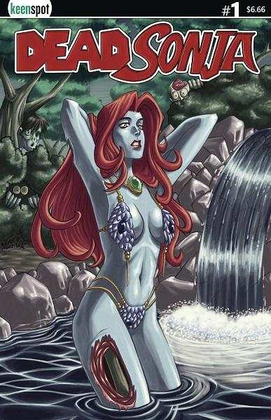 Comic Book Dead Sonja #1 Cover A Dead Sexy