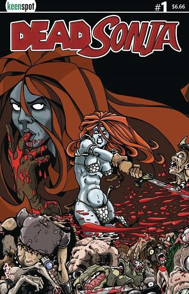 Comic Book Dead Sonja #1 Cover B Bloodbath Variant