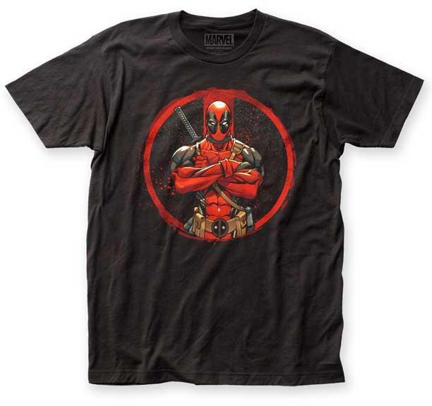 DEADPOOL - Crossed Arms Slim Fit T-Shirt