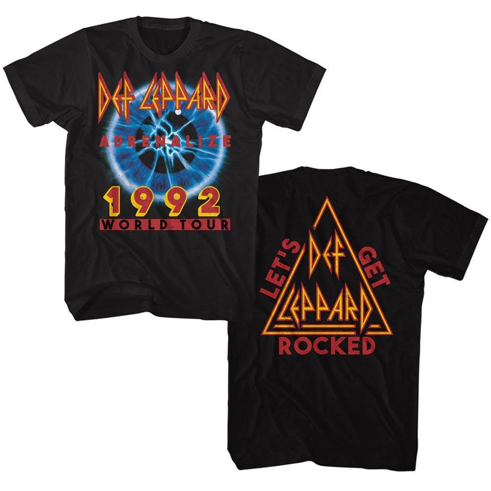Shirt Def Leppard Adrenalize 1992 Tour T-Shirt