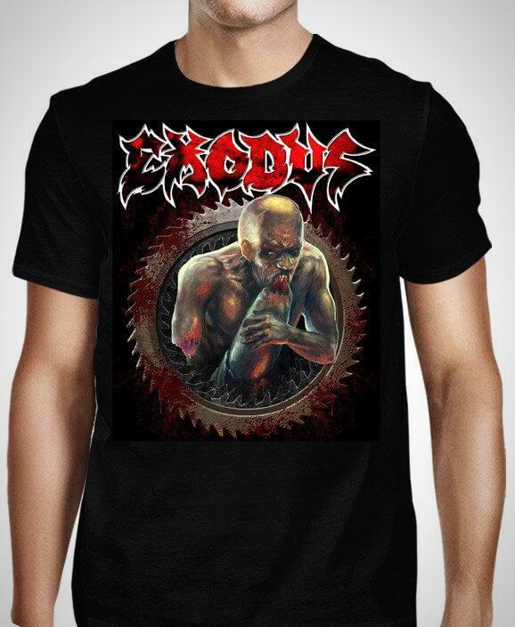Exodus Salt The Wound Black T-Shirt