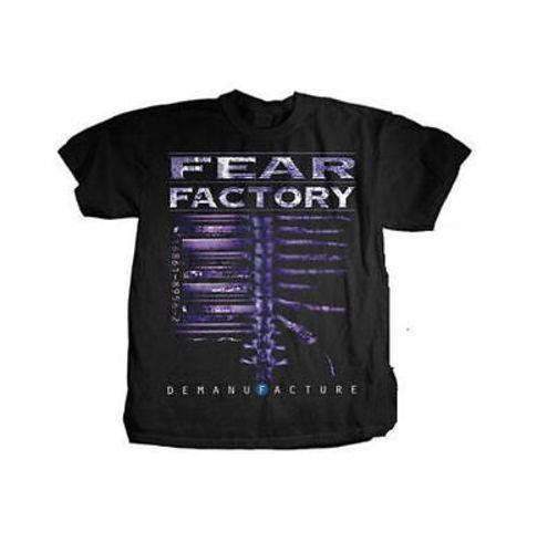 Fear Factory Demanufacture Black T-Shirt