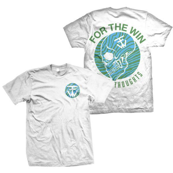 For The Win Heavy Thoughts White T-Shirt