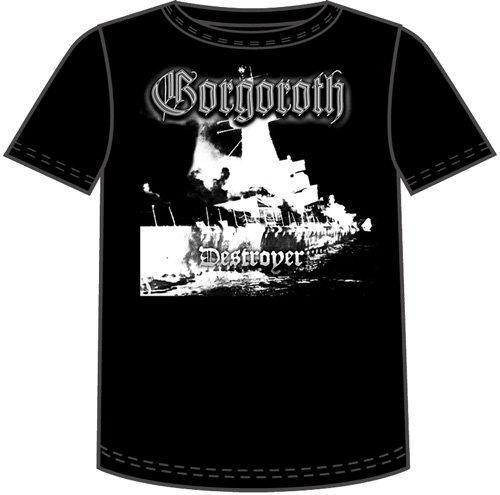 Gorgoroth Destroyer Black T-Shirt